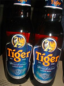 Tiger Malysian Beer